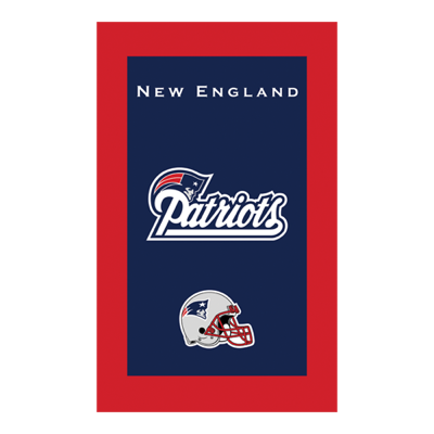New England Pats NFL Towel Sold As Each