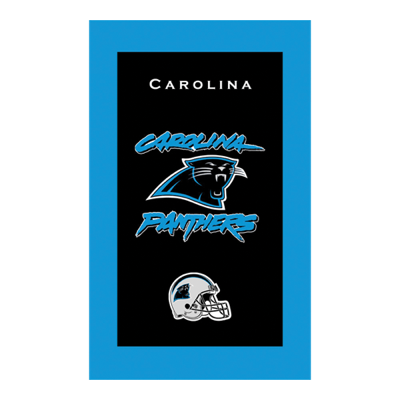 Carolina Panthers NFL Towel Sold As Each