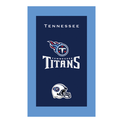 Tennessee Titans NFL Towel Sold As Each