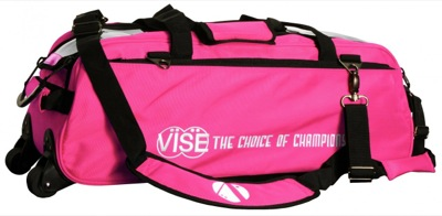 Vise 3 Ball Tote Roller Pink