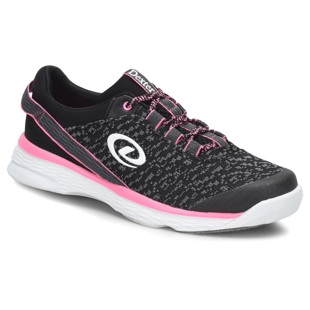 Jenna II Blk/Grey/Pink Ladies